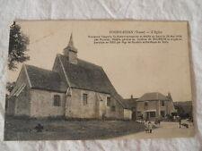"""CPA de l'Yonne  89 - Fournaudin """" l'Eglise """" 1915"""