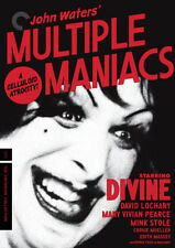 PRE ORDER: MULTIPLE MANIACS (CRITERION COLLECTION) - DVD - Region 1 - Sealed