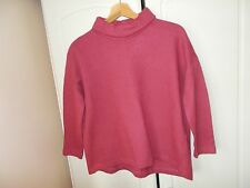 Beautiful COS coral pink wool lagenlook/oversized  jumper. Size S (UK10). VGC!