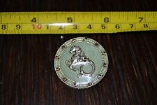 Sea Horse Signed CATHERINE POPESCO FRANCE Pin Brooch