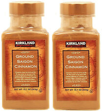 (2 x 10.7 oz) Kirkland Signature Ground Saigon Cinnamon Spice