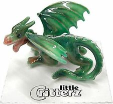 "108624  Little Critterz  ""Draco""  dragon Glow in the dark-in clear box with card"