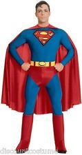 THE SUPERMAN HALLOWEEN COSTUME ADULT SIZE X-LARGE