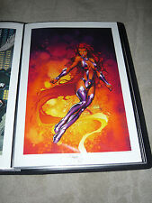 MICHAEL TURNER ASPEN DC  - TEEN TITANS - STARFIRE ART PRINT by MICHAEL TURNER