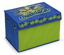 Delta TMNT Teenage Mutant Ninja Turtles Storage Bin Toy Box Trunk Organizer NEW