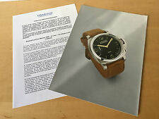 Press Kit PANERAI Luminor Marina 1950 47mm  Picture + Details Watch NOT Included