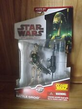 Star Wars The Clone Wars AAT Driver Battle Droid MISB MOC