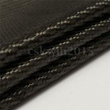 Black Carbon Fiber Cloth Fabric Plain Weave 3K 2-2 Twill Weaving 200g 1m*1m