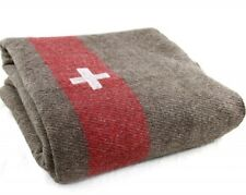The Heaviest Swiss Army Wool Blanket replica Military Camping Hiking 5.9lbs!!
