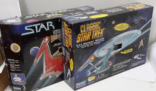 Star Trek Classic Playmates Ship Set of 2-Enterprise & Romulan- Boxed (SRP-180)