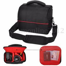 Waterproof Shockproof DSLR Camera Messenger Shoulder Bag Case For Nikon & Lens