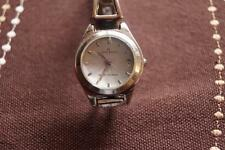 LADIES  AK ANNE KLEIN BRACELET WATCH,NEW BATTERY FITTED,KEEPING TIME
