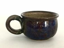 Vintage Diana Worthy Studio Pottery Stoneware Coffee Cup Crich Pottery 1970s (A)