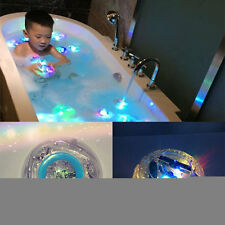 Waterproof Bathroom LED Light Toys Kids Children Funny Bath Toy Multicolor#D