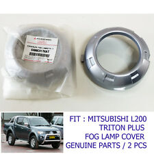 FIT MITSUBISHI L200 TRITON PLUS 2008 09 10 FOG LAMP COVER TRIM GENUINE PART SET