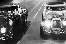 American Graffiti 24x36 Poster Drag race 1932 Deuce Coupe '55 Chevy Hot Rod car
