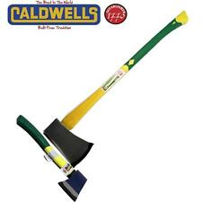 CALDWELLS POWERSTRIKE AXE + FIBREGLASS HAND HATCHET KINDLING SPLITTING FIRESIDE