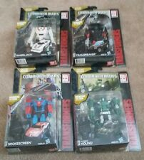 Transformers Generations Combiner Wars Hound Wheeljack Smokescreen Trailbreaker
