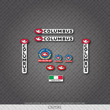 0256 Columbus ALTEC PLUS PRO RACING Bicycle Frame and Fork Stickers - Decals