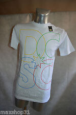 TEE SHIRT  DC SHOES LONDON  SKATE WEAR TAILLE S MAGLIA/TOP  NEUF