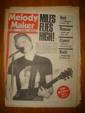 MELODY MAKER 1976 APR 3 JOHN MILES NEIL YOUNG DENVER