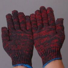 New Men's Knitted Wrist Gloves Winter Work Protective Mittens Anti-skid Riggers