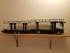 Bauanleitung instruction Autotransporter Umbau  Eigenbau Unikat Moc Lego Technic