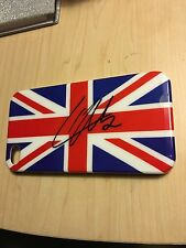 Liam Payne One Direction Signed  Autographed iPhone 4 British Flag Phone Case