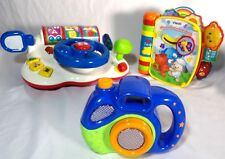 Lot of 3 Child Kid Toddler Toys Fun Education Interactive Pretend Learn Vtech