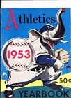 1953 PHILADELPHIA A'S YEARBOOK GREAT EXAMPLE ! CONIIE MACK STADIUM PHOTOS