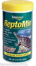 (6) Tetra Pond # 29252 1.94 oz Reptomin Reptile Turtle Frog Floating Food Sticks