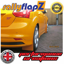 Mud Flaps For FORD FOCUS ST Mudflaps (NEW 2012 on) rallyflapZ Tangerine Scream