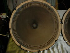 "Single 1960 Jensen P15N P-15-N 15"" Speaker used in Fender Bassman, Gibson GA-75w"