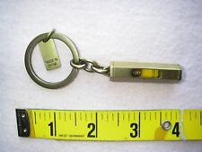 Vintage Coach Brass/Metal level key chain, key ring, key fob.