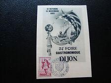 FRANCE - carte 1953 (foire de dijon) (cy77) french