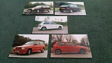 1988 SILVER KNIGHT FIAT UNO Body Styling UK SET OF 5 PHOTOS - BROCHURE