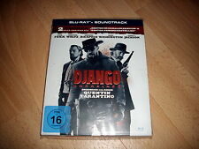 Blue Ray: Django Unchained   mit Pappschuber incl. soundtrack