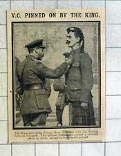 1915 The King Decorating Private Ross Tollerton With Vc Glasgow