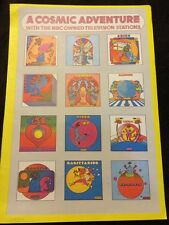 Rare Vintage Peter Max NBC TV Pop Psychedelic Cosmic Horoscope Wall  Art Poster