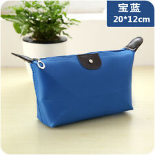 Royal Blue Multifunction Portable Travel Cosmetic Makeup Bag Toiletry Case Pouch
