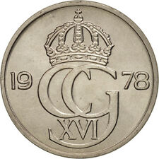 [#98320] Suède, Carl XVI Gustaf, 50 Öre, 1978, SPL, Copper-nickel, KM:855