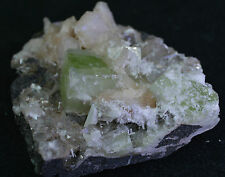 Stunning Scolecite sprays, Green Apophylitte & peach Stillbite Matrix from India