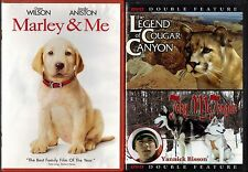 Marley & Me (DVD) & The Legend of Cougar Canyon - Toby McTeague (DVD); 2 DVDs