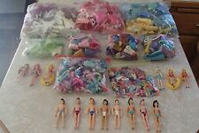 MASSIVE Collection Disney Princess Polly Pocket 750+ Pieces Boys Dolls HUGE LOT