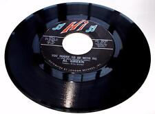 Al Green You Ought To Be With Me / What Is This 1972 HI 2227 R&B Soul 45rpm VG+