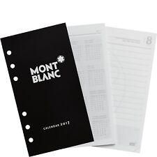 MONTBLANC Kalender 2017, Einlagen gelocht, 1 Tag / 1 Seite, medium, 115306, NEU