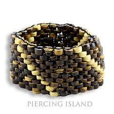 Goa Kokosnuss Perlen Beads Holz Armband Surfer Design B025