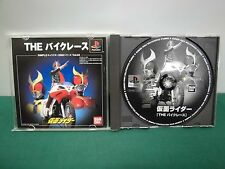 PlayStation -- THE BIKE RACE Masked Rider -- PS1. JAPAN GAME.