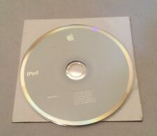 Apple iTunes + iPod Installation Disc Only (2005, 2Z691-5504-A)