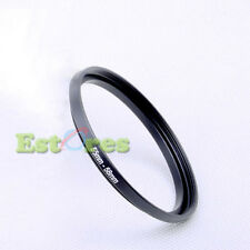 55mm-58mm 55-58 mm 55 to 58 Metal Step-Up Lens Filter Ring Adapter Black